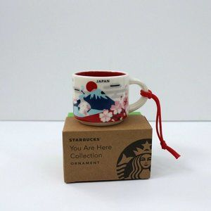 Starbucks You Are Here Ornament Japan 2oz Demi Cup